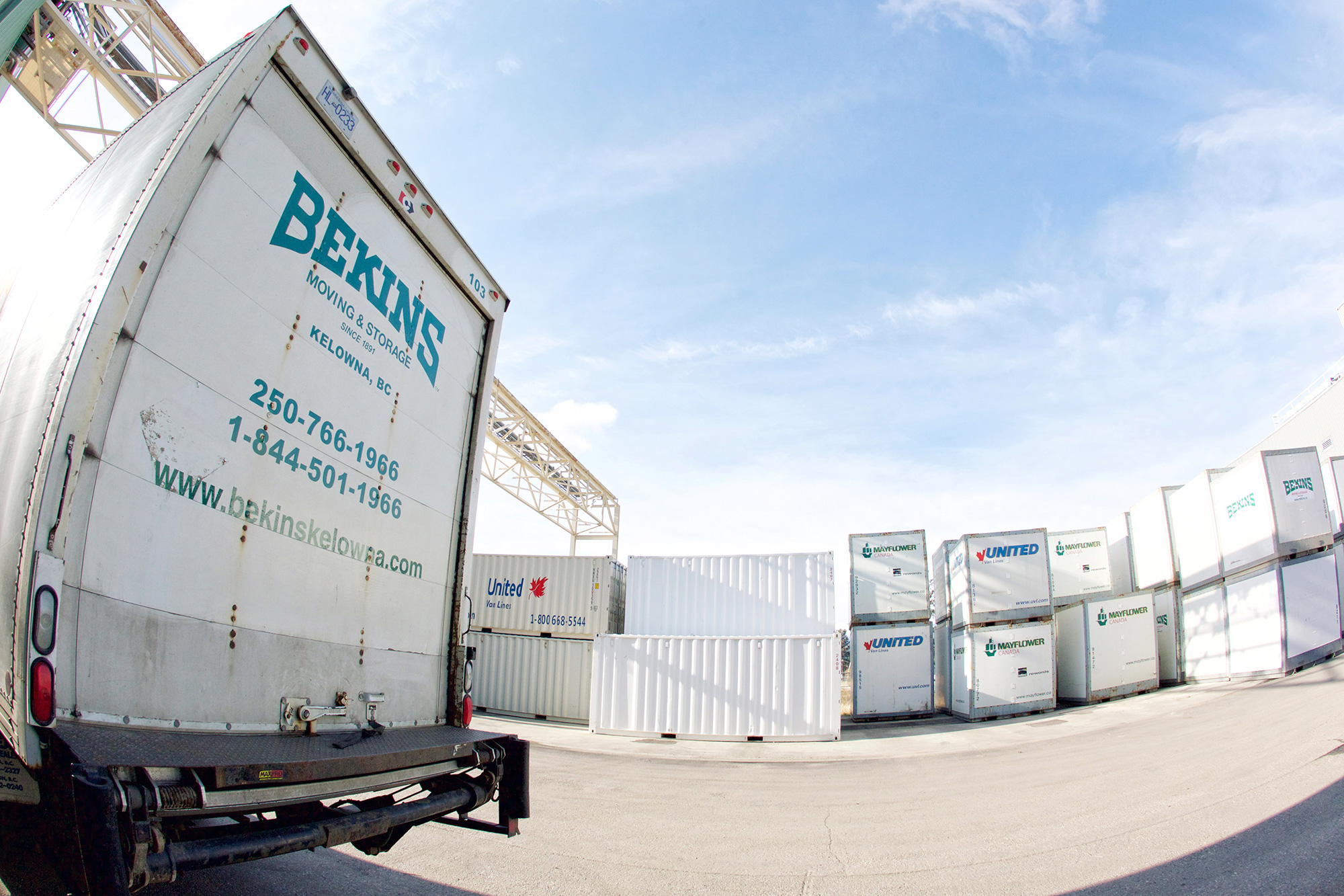 Bekins Moving & Storage Kelowna Canada Moving