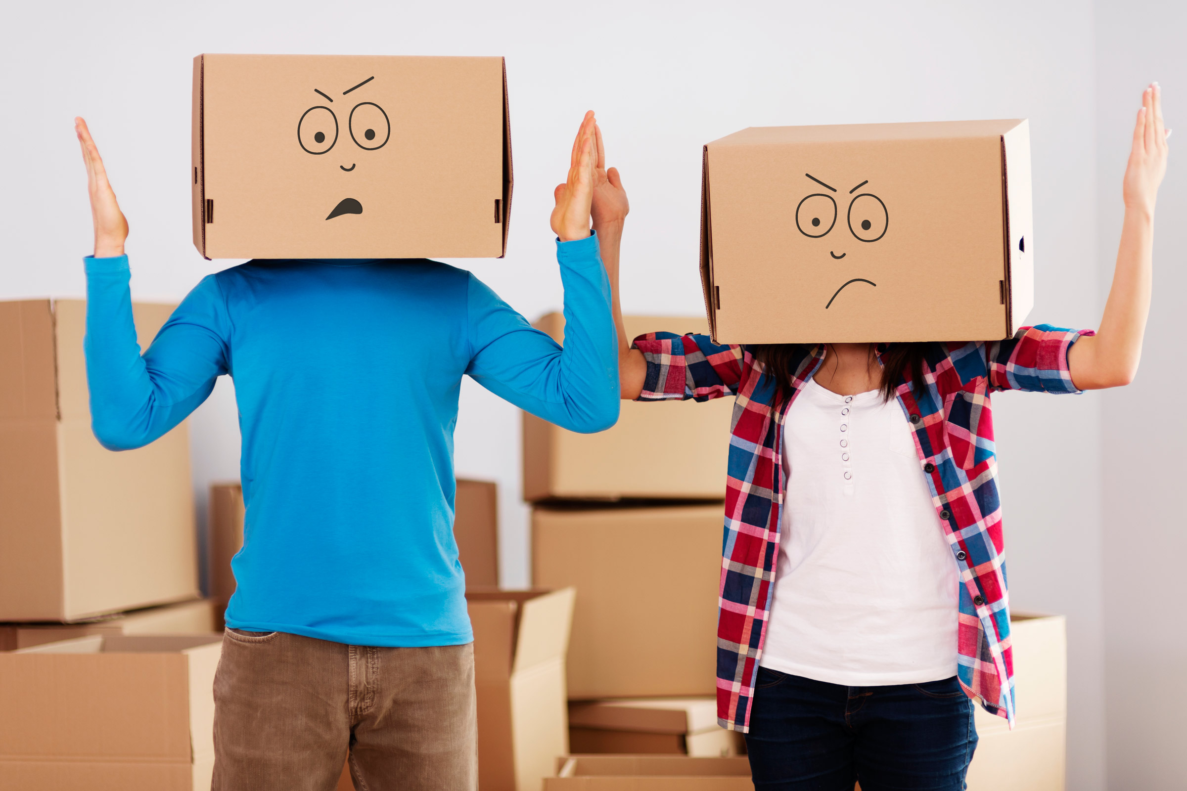 frustrated moving?